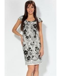 Черно-белое платье Remix | 1686