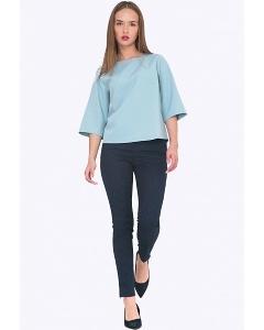 Женские зауженные брюки с молнией внизу Emka D083/bris