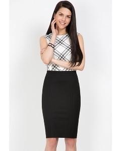Классическая юбка-карандаш Emka Fashion 498-almaza