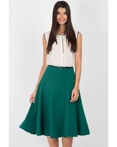 Юбка зелёного цвета Emka Fashion 541-galina