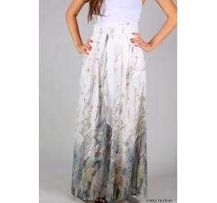 Модная летняя юбка в пол