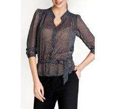 Повседневная блузка из тонкого шифона   Б795-1180
