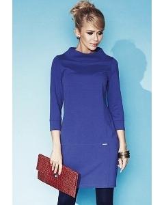 Платье синего цвета Zaps Shirley