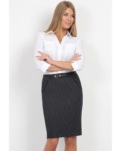 Юбка из фактурной ткани Emka Fashion 564-radost