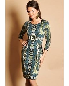 Трикотажное платье TopDesign B5 004