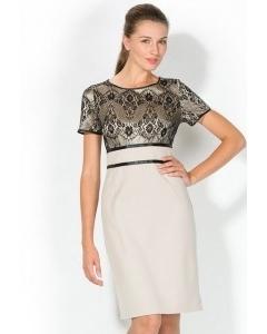 Комбинированное платье Remix