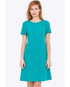 Легкое платье в стиле Casual PL-605/petrola