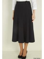 Черная длинная юбка Emka Fashion 435-aria