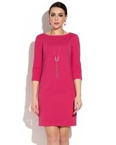 Коктейльное платье ярко-розового цвета Donna Saggia DSP-102-62t