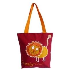 Стильная красная сумка Grizzly | ДМ-1243