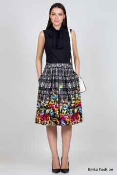 Летняя юбка Emka Fashion 536-ataliya