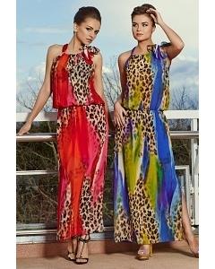 Длинное летнее платье TopDesign Premium PA4 01