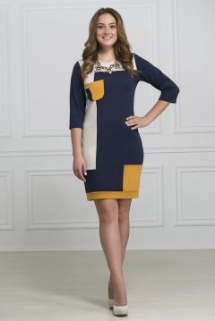 Трикотажное платье Rosa Blanco 33064