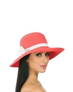 Чёрно-белая шляпа Del Mare 001-02.01