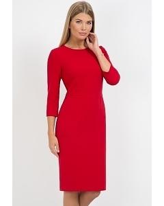 Красное платье Emka Fashion PL-429/rostislava
