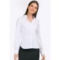 Белая блузка приталенного силуэта Emka B2336/vonda