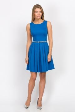 Летнее платье синего цвета Emka Fashion PL-472/terri