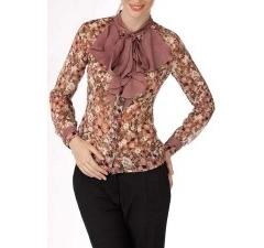 Офисная блузка из шифона