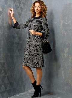 Платье TopDesign B3 003 (осень-зима 2013/2014)