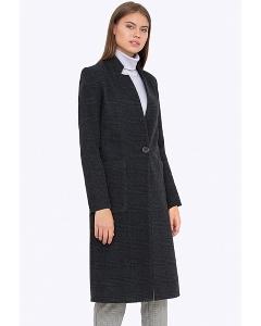 Женское пальто без воротника Emka R-011/alisa