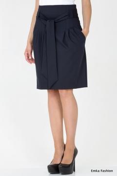 Юбка с широким поясом Emka Fashion 421-lorin