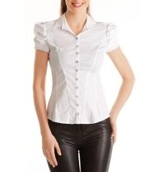 Изящная блузка с коротким рукавом