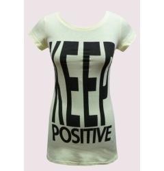 "Женская туника ""Keep Positive"""