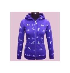 Фиолетовая женская толстовка Fizio