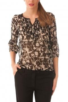 Весенняя блузка из легкого шифона   Б802-1328