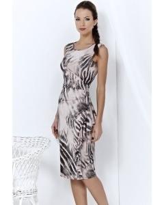 Трикотажное летнее платье TopDesign | A3 021