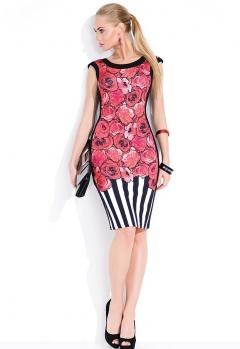 Платье с коротким рукавом Zaps Kayla