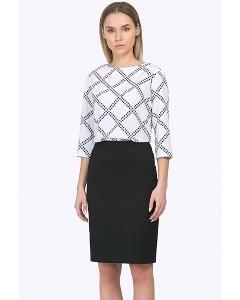 Простая и недорогая офисная юбка Emka S762/djolin