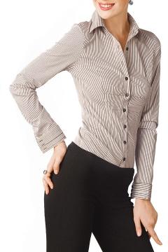 Блузка в мелкую полоску | Б633-873
