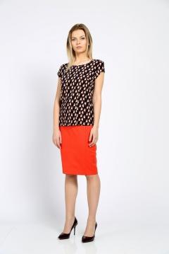 Блузка с принтом в виде птиц Emka Fashion b 2163/gamma
