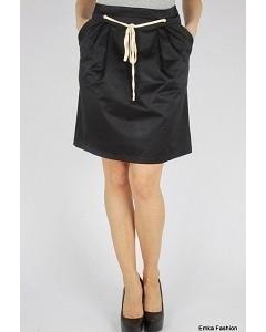 Юбка черного цвета Emka Fashion 449-kleo