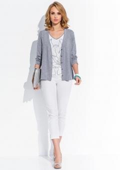 Кардиган серого цвета Sunwear R112-5