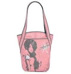 Розовая женская сумка Grizzly | МД-1507