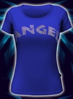 Футболка синего цвета Angel