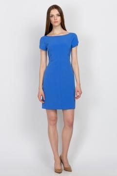 Платье синего цвета Emka Fashion PL-505/rouz