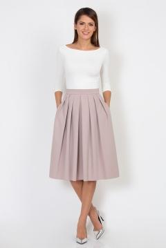 Розово-бежевая юбка Emka Fashion 532-natali