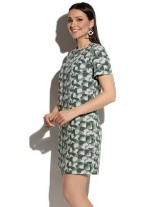 Платье милитари Donna Saggia DSP-88-50