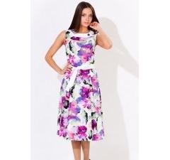 Цветное летнее платье