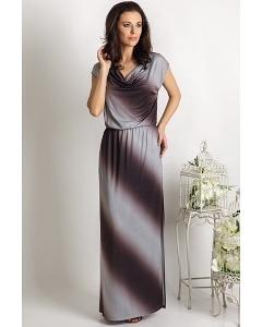 Длинное летнее платье TopDesign Premium PA6 21