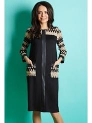 Платье из коллекции осень-зима 15/16 TopDesign B5 067