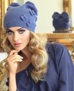Женская шапка с маленькими бантиками Kamea Renata