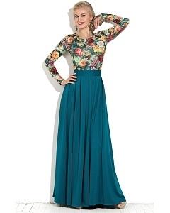 Длинная юбка в пол Donna Saggia DSU-21-35t