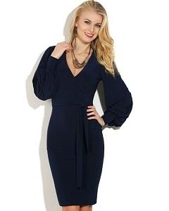 Темно-синее платье Donna Saggia DSP-36-41t