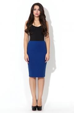 Яркая синяя юбка Donna Saggia | DSU-09-37t