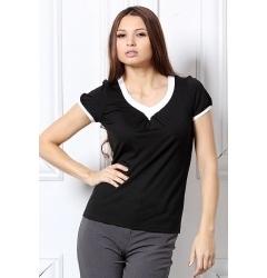 Черная блузка Remix