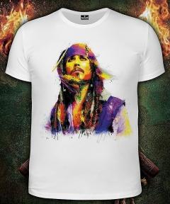 Мужская футболка Fluoro Depp (Светится в ультрафиолете)
